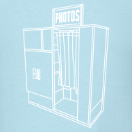 Design ~ Photobooth.net Men's Lightweight T-Shirt