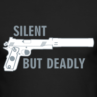 Design ~ Long Sleeve Tee : Silent But Deadly