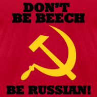 Design ~ American Apparel Tee : Don't Be Beech