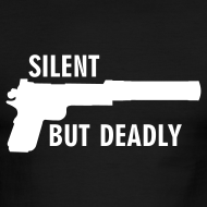 Design ~ American Apparel Contrast : Silent But Deadly