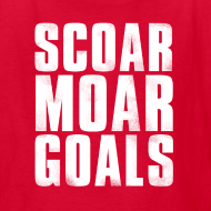 Design ~ Scoar Moar Goals Kid's T-Shirt