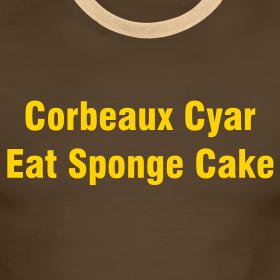 Design ~ COBEAUX CYAR EAT SPONGE CAKE - IZATRINI.com