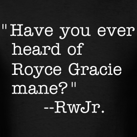 Design ~ Heard of Royce Gracie