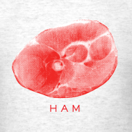 Design ~ Ham Slab Men's Standard Weight T-Shirt