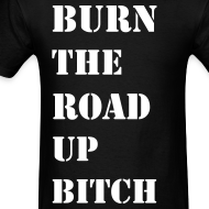 Design ~ Burn the road up in Stencil