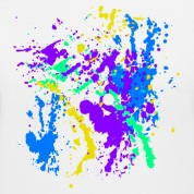 Paint Splatter Colorful Graffiti Graphic Design Picture - Cool tshirt and Hoodie Sweater!