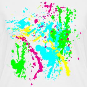 design spray paint splatter colorful graffiti graphic design picture. Black Bedroom Furniture Sets. Home Design Ideas