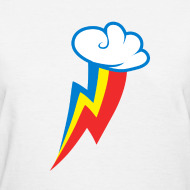 Design ~ Rainbow Dash Cutie Mark F/White