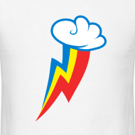 Design ~ Rainbow Dash Cutie Mark M/White
