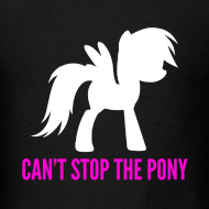 Design ~ Can't Stop The Pony M/Black