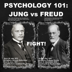 jung vs freud Sigmund freud versus carl jung on dream works sigmund freud and carl jung were two of the great psychological minds from the early 1900.