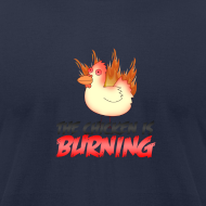 Design ~ The Chicken Is Burning American Apparel