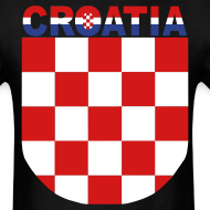 Design ~ Sahovnica Shirt Croatia Hrvatska 3 color