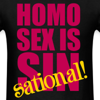 Homo Sex is Sin-Sational
