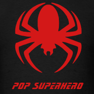 Design ~ Spiderman Symbol on Black Shirt
