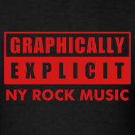 Design ~ Graphically Explicit Black Shirt