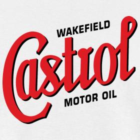 classic wakefield castrol script logo autonaut spreadshirt