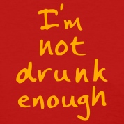 Red not drunk enough Women's T-shirts