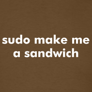 Design ~ sudo make me a sandwich - Linux