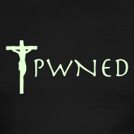 Design ~ Pwned Jesus - Glow in the dark