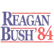 Vintage Reagan Bush 1984