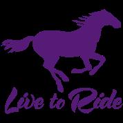 Live to Ride Horse Design