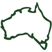 rough map of australia