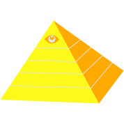 egyptian pyramid with all seeing eye