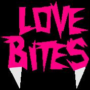 love bites with vampire teeth