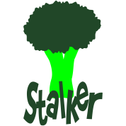Stalker With Head Of Broccoli