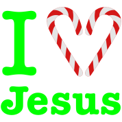 Gladditudes I Heart Jesus (for dark)