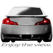 G35 Enjoy the view.