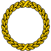 Laurel Olive Wreath Roman 2c