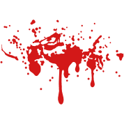 BLOODY TWILIGHT SPLATTER BLOOD STAIN Vector