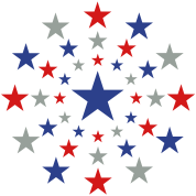 STAR STARS AMERICAN EXPLOSION Vector A