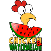 Chicken & watermelon