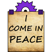 i come in peace