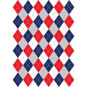Argyle curling pattern