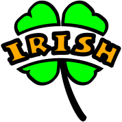Irish Arc Cutout 4-Leaf Clover