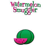Watermelon Smuggler Funny Maternity Shirt