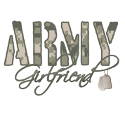 Army Girlfriend- Dog Tags