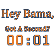 Hey Bama Got A Second? 00:01 - 2013 Iron Bowl