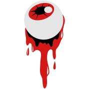 a bleeding eyeball