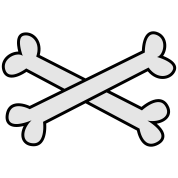 cool crossbones ( maybe Pirate cross Bones)