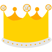 a tall king crown