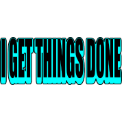 I Get Things Done, Funky--DIGITAL DIRECT PRINT