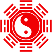 "The design which made Chinese ""TAOISM"" a motif"