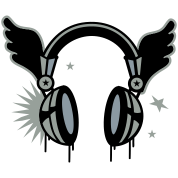 flying_headphones-Headphones with wings