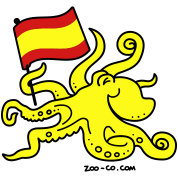 Paul the Octopus is Spanish!