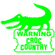 aligator crocodile warning croc